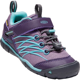 Keen Chandler CNX WP Shoes Kinder Montana Grape/Aqua Haze